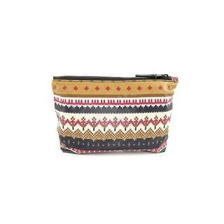 Shiraleah Montana Women Nylon Cosmetic Bag NWT - Red