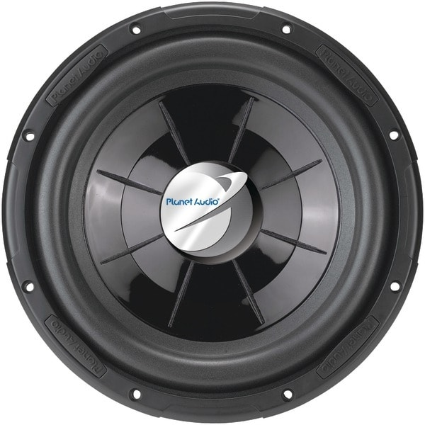 "Planet Audio Px12 Axis Series Single Voice-Coil Flat Subwoofer (12"", 1,000 Watts)"