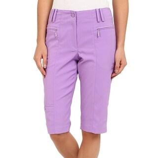 DKNY NEW Purple Violetta Women's Size 0 Athletic Golf Shorts