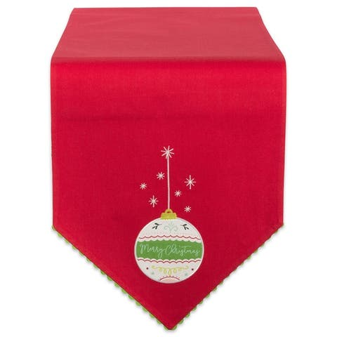 DII Table Runner and Napkin Set, 7 Piece