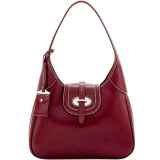 Dooney & Bourke Florentine Toscana Hobo (Introduced by Dooney & Bourke at $428 in Sep 2016) - Bordeaux