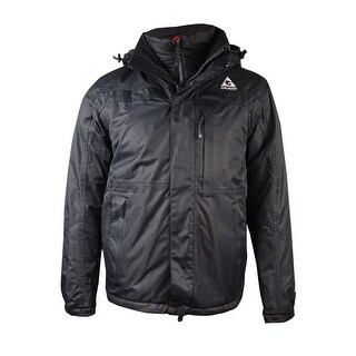 Gerry Men's Boardwalk 3 in 1 Systems Jacket (S, Black) - Black - S