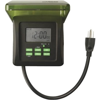 Woods Ind. 7-Day Outdoor Timer 50015WD Unit: EACH
