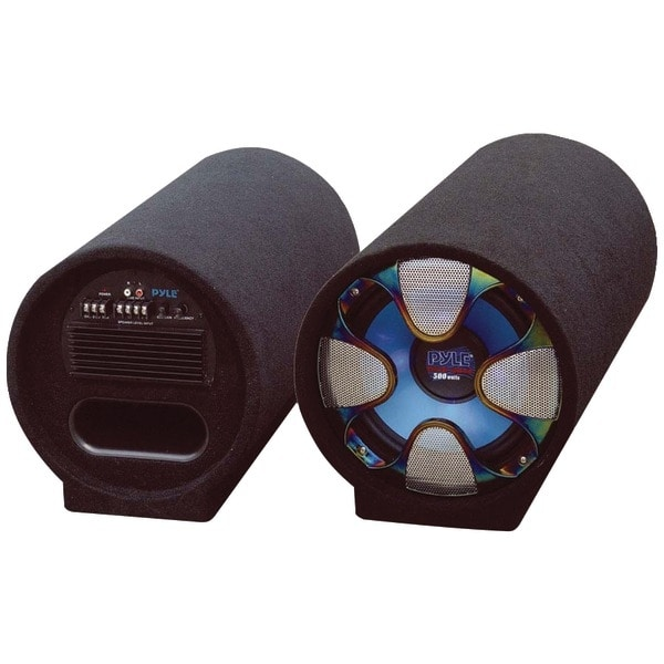"""PYLE PRO PLTAB10 Blue Wave Series Amplified Subwoofer Tube System (10"""", 500 Watts)"""