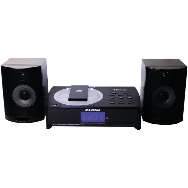 Sylvania SRCD1079BT Bluetooth (R) CD Micro System Manufacturer Refurbished