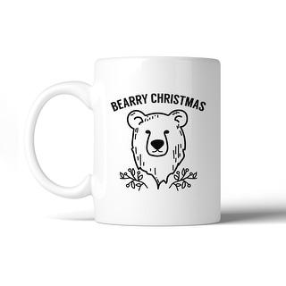 Bearry Christmas Bear Coffee Mug Micro-Wave Safe Dishwasher Safe