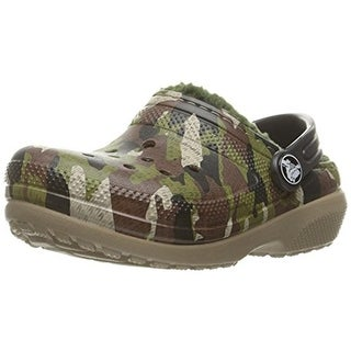 Crocs Boys Classic Lined Clogs Toddler Synthetic