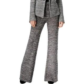 Rachel Rachel Roy Womens Wide Leg Pants Woven Knit