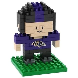 Baltimore Ravens 3D NFL BRXLZ Bricks Puzzle Player