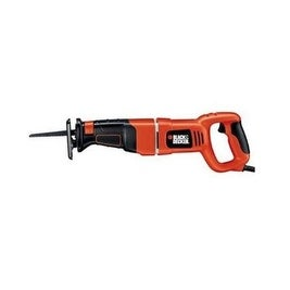 """Black & Decker RS500K Reciprocating Saw/Clamp 1-1/8"""",8.5A"""