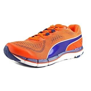 Puma Faas 600 V3 Men Round Toe Synthetic Orange Tennis Shoe