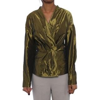 Lafayette 148 New York Polyester Snap Jacket Basic Jacket