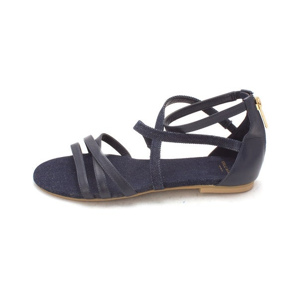 Cole Haan Womens Aliviasam Open Toe Casual Strappy Sandals - 6