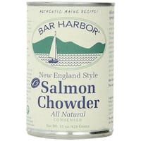Bar Harbor All Natural Salmon Chowder - Case of 6 - 15 oz.