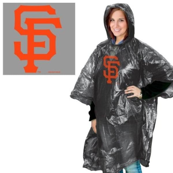 San Francisco Giants Rain Poncho. Opens flyout.