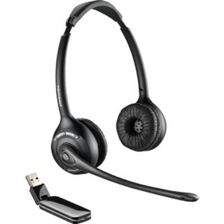 Plantronics 84008-01 Savi W420-M Binaural Over-The-Head Usb Wireless Headset With Mic
