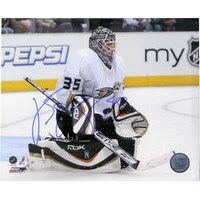 Signed Giguere JeanSebastien Anaheim Ducks 8x10 Photo autographed