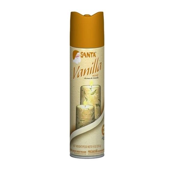 Santa Vanilla Scent Christmas Spray - 9 Ounces - brown