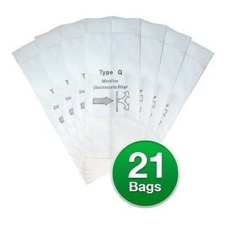 Replacement Type Q Vacuum Bag for Royal RY2000 Bag Model (3 Pack)