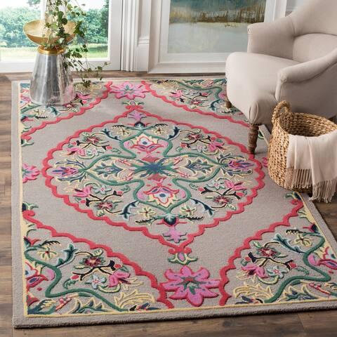 SAFAVIEH Handmade Bellagio Junie Medallion Wool Rug