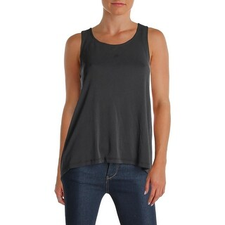 Splendid Womens Tank Top Modal Open Back