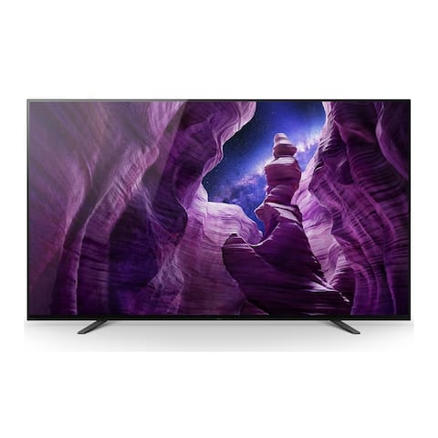 Sony XBR-55A8H 55-Inch BRAVIA OLED 4K Smart TV with HDR (2020 Model) - Black