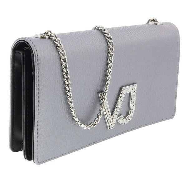 Versace EE3VRBPC3 Silver Wallet on Chain - 7.5-4.5-1