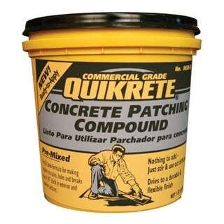 Quikrete 865035 Concrete Patch Compound, 4 Lbs
