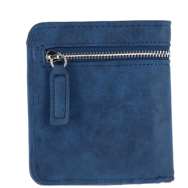CTM® Women's RFID Protected Compact Bifold Wallet - One size