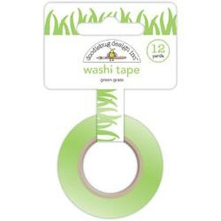 Green Grass - Sunkissed Washi Tape 8Mm; 12Yds