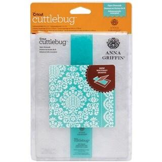 "Cuttlebug 5""X7"" Embossing Folder/Border Set-Ogee Damask By Anna Griffin"