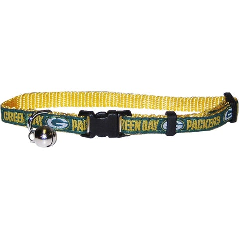 NFL Green Bay Packers Cat Collar