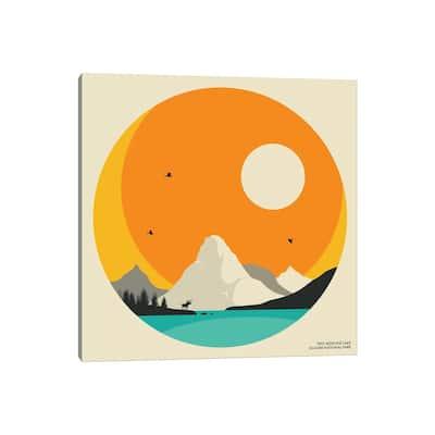 "iCanvas ""Glacier National Park"" by Jazzberry Blue Canvas Print"