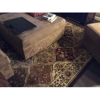 Alise Rugs Rhythm Traditional Abstract Area Rug - multi - 7'6 x 9'10