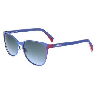 Just Cavalli JC741S/S 83Z Periwinkle/Magenta Cateye Sunglasses - 54-18-140