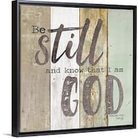 Shop Marla Rae Poster Print Entitled Be Still And Know That I Am God