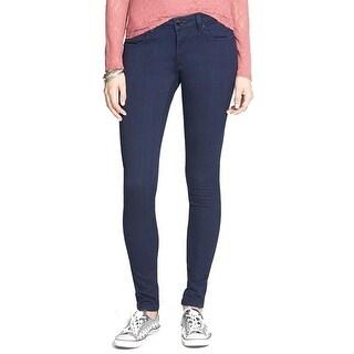 Vigoss NEW Dark Blue Women's Size 29X31 Slim Skinny Seamed Stretch Jeans