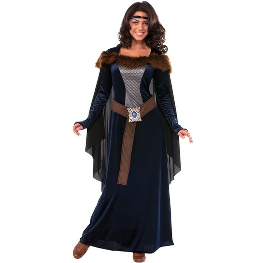 Rubies Dark Lady Adult Costume - Blue
