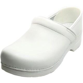 Dansko Professional Round Toe Leather Nursing & Medical Shoe