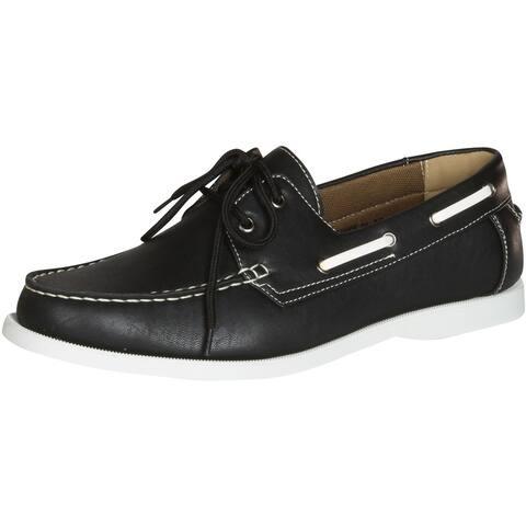 J's Awake Men's Terance-21 Boat Shoes