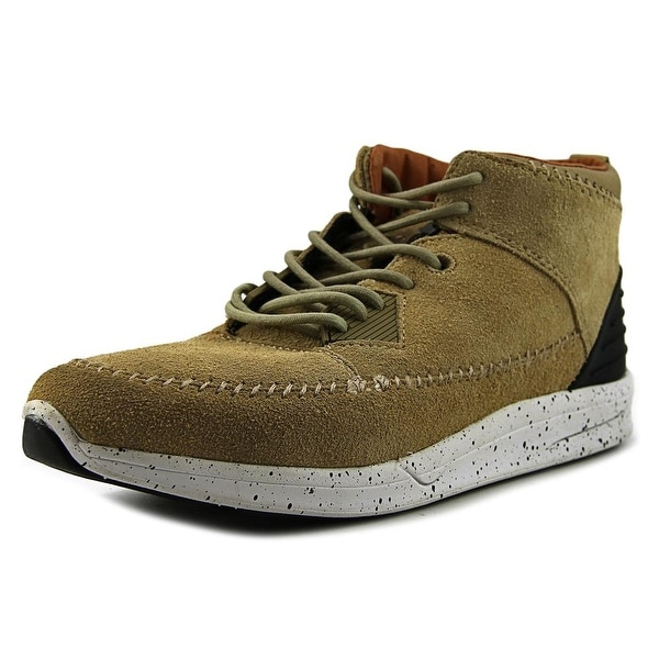 Diamond Supply Co Native Trek Men Round Toe Suede Tan Skate Shoe
