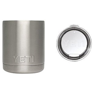 Yeti Cooler: Stainless Steel Rambler Lowball,10 oz - Stainless Steel