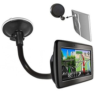 Magellan Gooseneck Windshield Suction Cup Mount w/ Ball Adapter