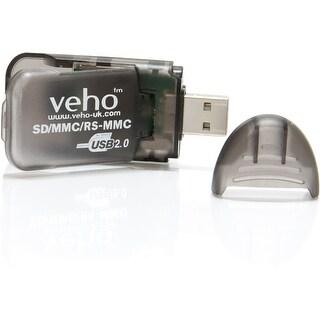 Veho SD and SDHC Card Reader - Black
