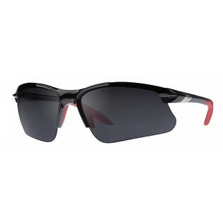 Dual Power Eyewear SL2 Pro Black With Grey Lens Non-Bifocal Sunglasses