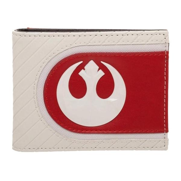 Star Wars: The Last Jedi Salt Planet Rebel Logo Bifold Wallet - One Size Fits most