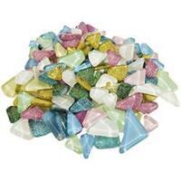 Cobblestones Solids & Glitter Mix 8Oz-Lights