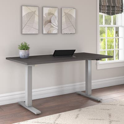 Cabot 60W x 30D Electric Height Adjustable Standing Desk by Bush Furniture