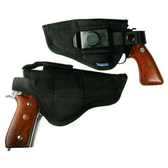 "Large Nylon Holster for .45 Government with 4.5"" to 5"" Barrel"