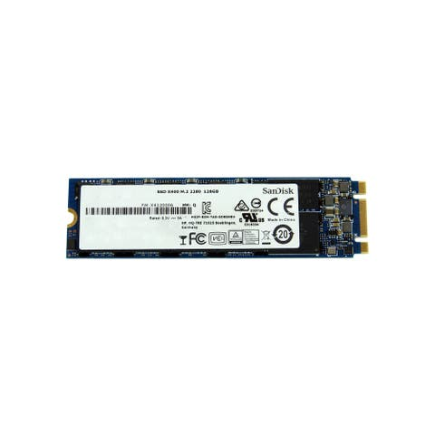 SanDisk 128 GB M.2 2280 SATA SSD (Refurbished)